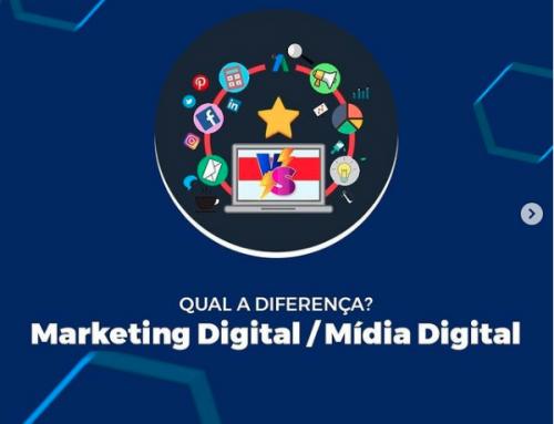 Qual a diferença entre Mídias Digitais e Marketing Digital